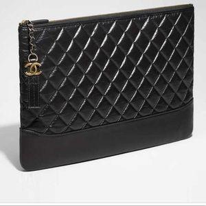 Chanel Gabrielle Pouch 14x9.5x.5